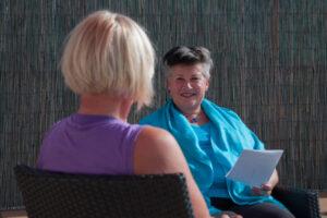 coaching Ingalill Vestman