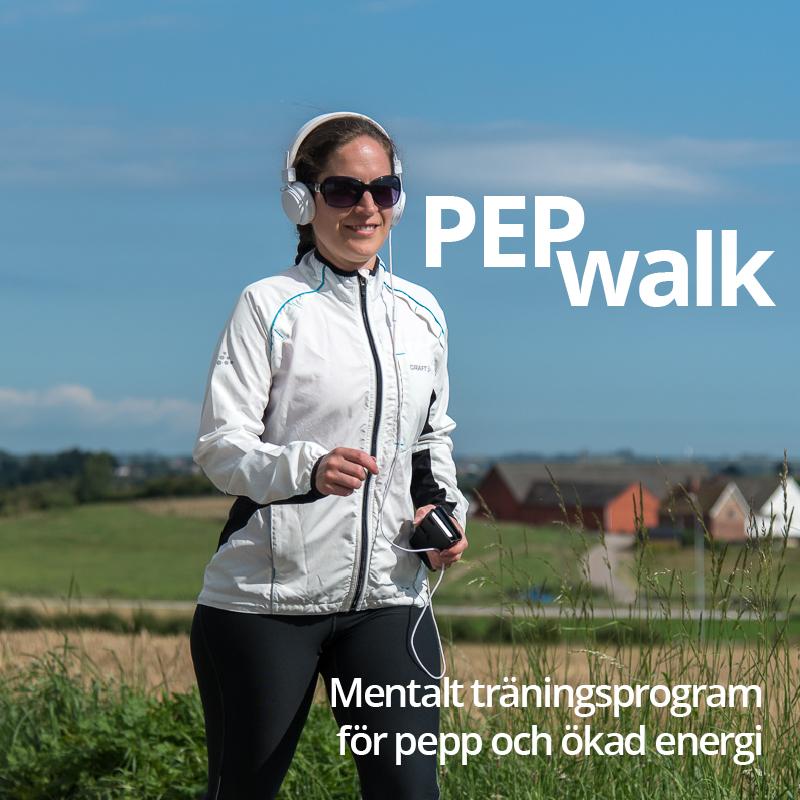 PepWalk träningsmotivation