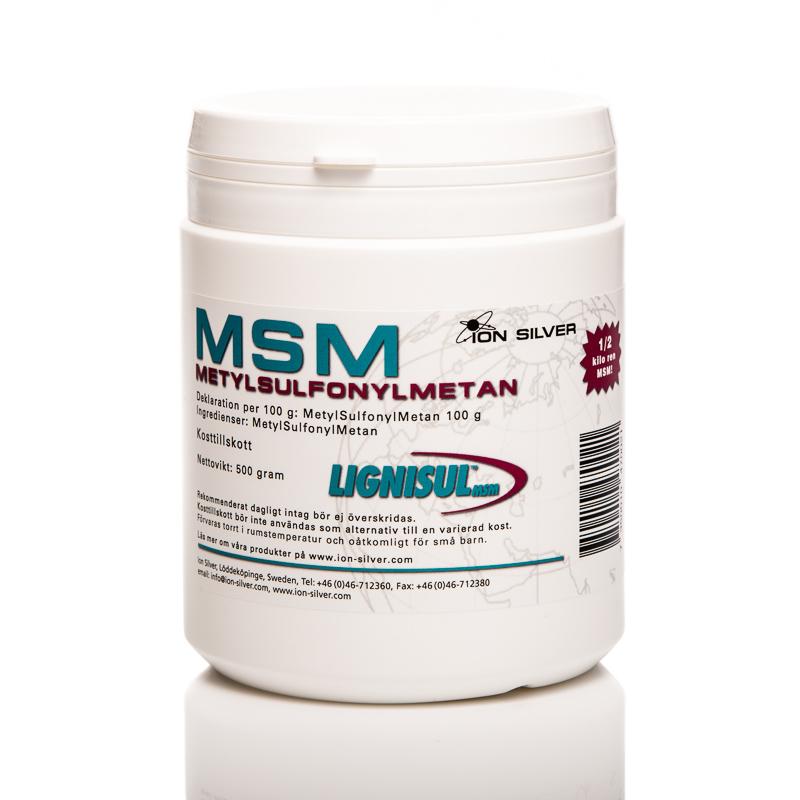 MSM - metylsulfonylmetan