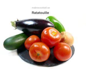 Gronsaker till Ratatouille
