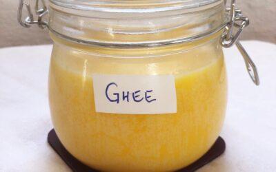 Ghee – klarnat smör läker magen
